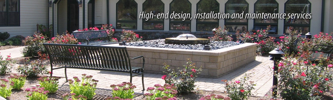 High-end design, intallatioon and maintenance services